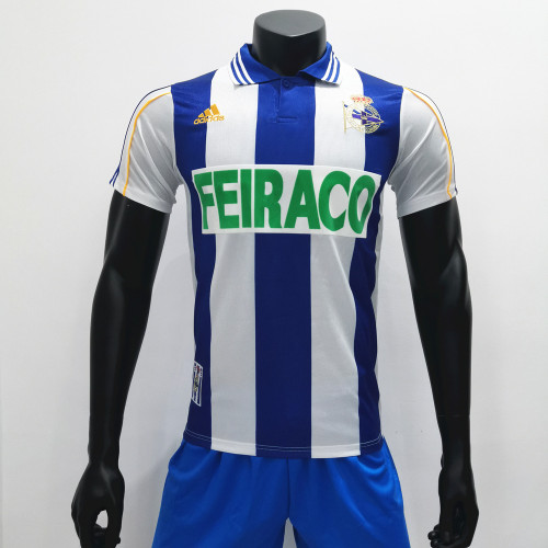 Deportivo 1999/2000 Home Retro Soccer Jerseys