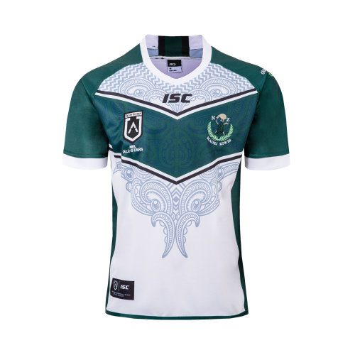 Maori All Stars 2019 Men's Rugby Home Jersey