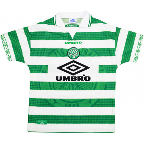 Celtic 1997-99 Larsson Home Retro Jersey