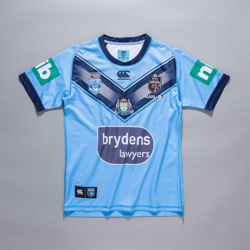 NSW Blues State of Origin 2020 Mens Home Rugby Jersey