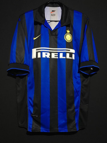 Inter Milan 1998/1999 Ronaldo Retro Home Jersey
