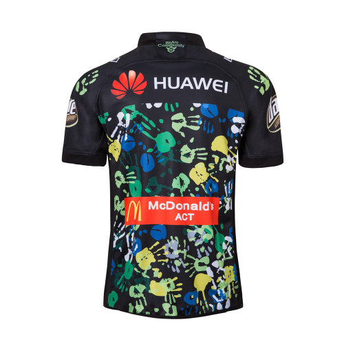 Canberra Raiders 2018 Men's Indigenous Rugby Jersey