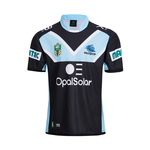 Cronulla Sutherland Sharks 2018 Men's Away Rugby Jersey
