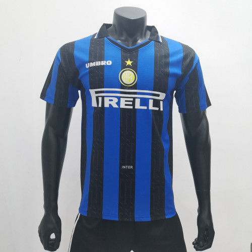 Inter Milan 1997/1998 Home Retro Soccer Jerseys