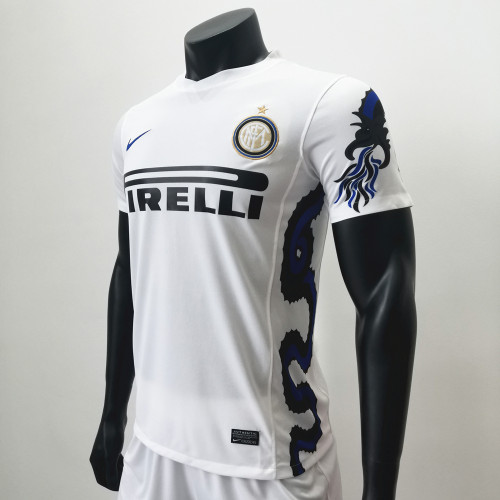Inter Milan 2010-11 Away Retro Soccer Jerseys