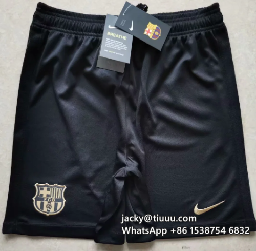 Thai Version Barcelona 20/21 Away Soccer Shorts