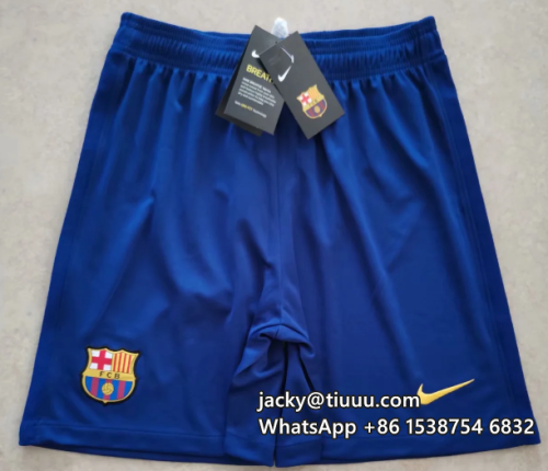 Thai Version Barcelona 20/21 Home Soccer Shorts
