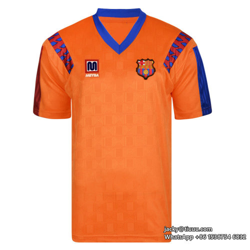 Barcelona 1991-1992 Away Retro Football Jersey