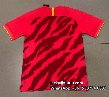 Thai Version Evergrande 2020 Home Soccer Jersey