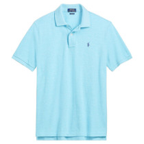 Men's Classics Pure Color Polo Shirt 077