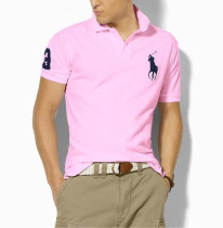 Men's Classics Pure Color Polo Shirt 059