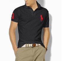 Men's Classics Pure Color Polo Shirt 063