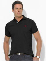 Men's Classics Pure Color Polo Shirt 053