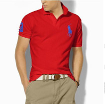 Men's Classics Pure Color Polo Shirt 057