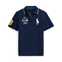 Men's Classics Pure Color Polo Shirt 075