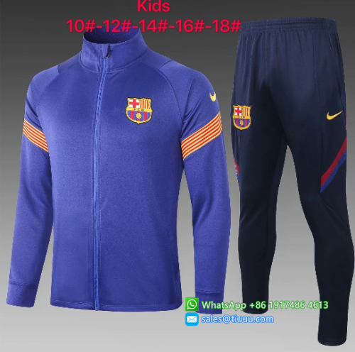Barcelona 20/21 Kids Jacket and Pants - E460