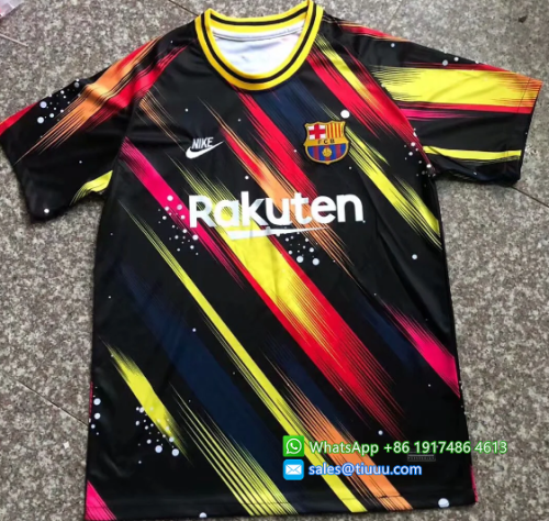 Thai Version Barcelona 20/21 Training Jersey - 003