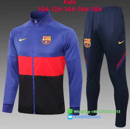 Barcelona 20/21 Kids Jacket and Pants - E458