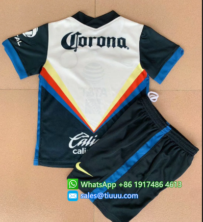 Club America 20/21 Kids Away Soccer Jersey and Short Kit
