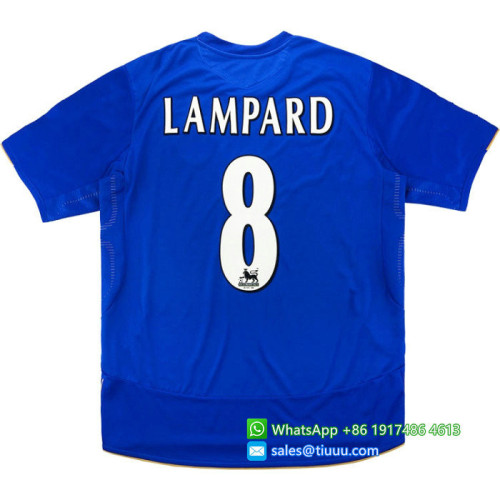 Chelsea 2005/06 Centenary Home Retro Jersey #8 Lampard