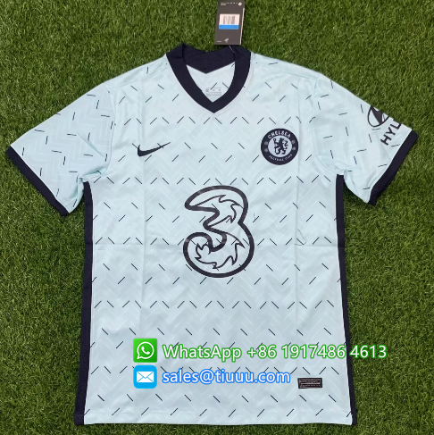 Thai Version Chelsea 20/21 Away Soccer Jersey