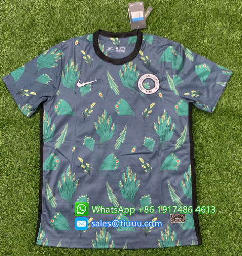 Thai Version Nigeria 2020 training Jersey