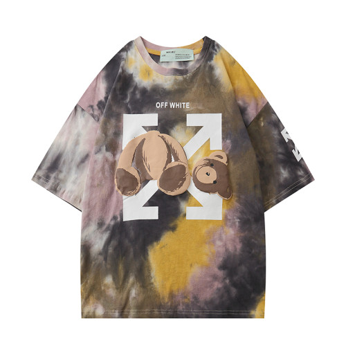 2020 Summer Fashion T-shirt Oil painting color