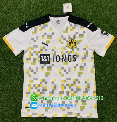 Thai Version Borussia Dortmund 20/21 Third Soccer Jersey