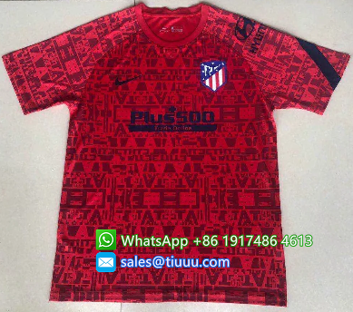 Thai Version Atletico Madrid 20/21 Training Jersey