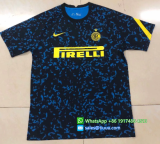 Thai Version Inter Milan 20/21 Training Soccer Jersey