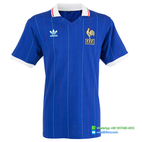 France 1982 Home Retro Jersey
