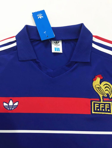 France 1984 Home Retro Jersey