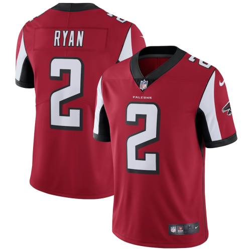 Men's Atlanta Falcons Matt Ryan Red Vapor Untouchable Limited Player Jersey