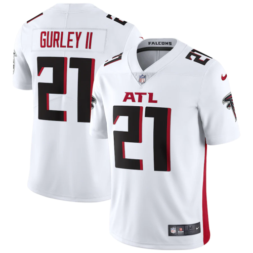 Men's Atlanta Falcons Todd Gurley II White Vapor Limited Jersey