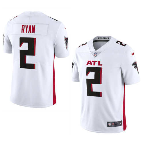 Men's Atlanta Falcons Matt Ryan White Vapor Limited Jersey