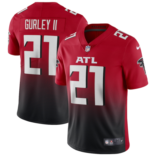 Men's Atlanta Falcons Todd Gurley II Red 2nd Alternate Vapor Limited Jersey