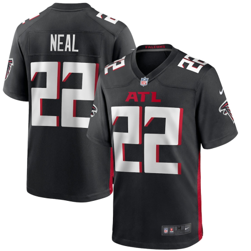 Men's Atlanta Falcons Keanu Neal Black Game Jersey