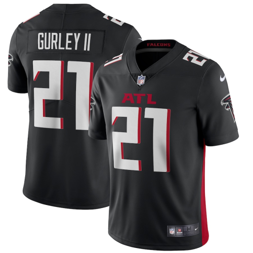 Men's Atlanta Falcons Todd Gurley II Black Vapor Limited Jersey