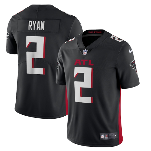 Men's Atlanta Falcons Matt Ryan Black Vapor Limited Jersey
