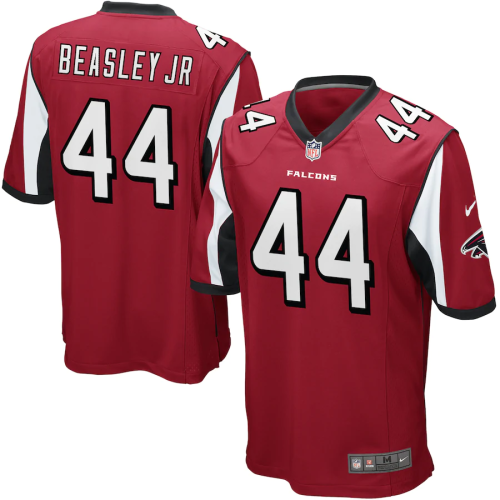 Men's Atlanta Falcons Vic Beasley Red Game Jersey