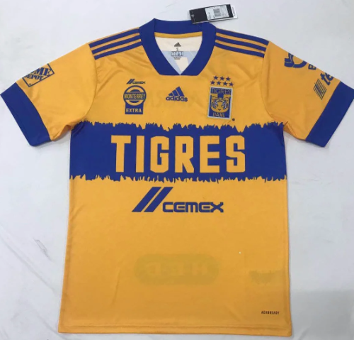 Thai Version Tiger 20/21 Home Soccer Jersey