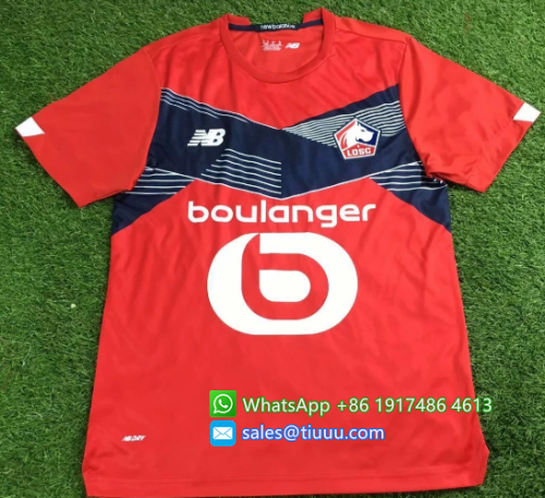 Thai Version Lille 20/21 Home Soccer Jersey