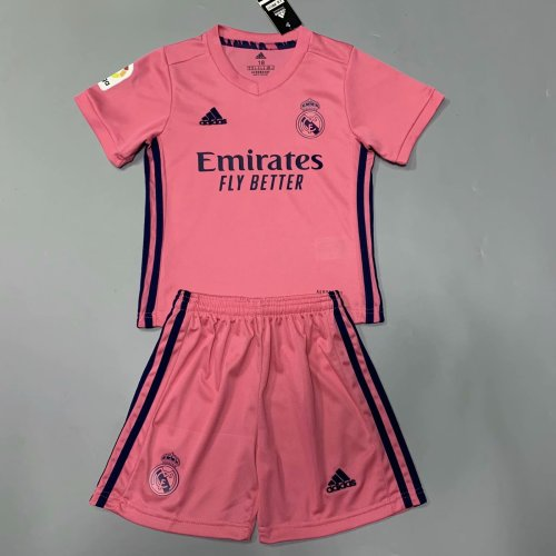 Real Madrid 20/21 Kids Away Soccer Jersey and Short Kit