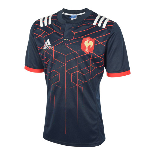 France 2016/17 Men's Home Rugby Jersey