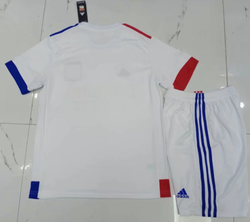 Olympique Lyonnais 20/21 Home Soccer Jersey and Short Kit
