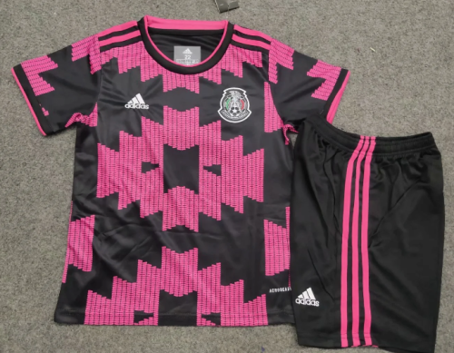 Mexico 2020 Kids Soccer Jersey and Short Kit