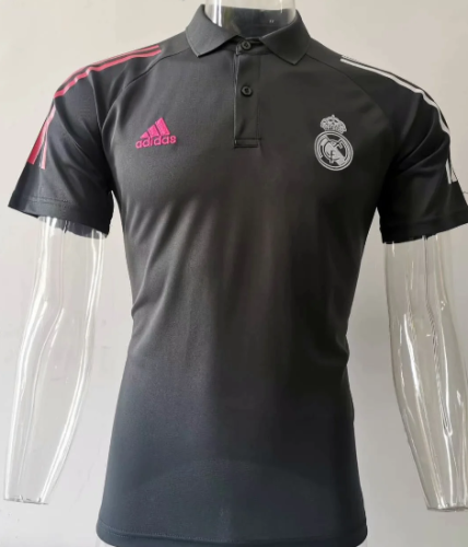 Real Madrid 20/21 Training Polo-Gray