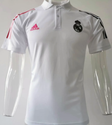 Real Madrid 20/21 Training Polo-White