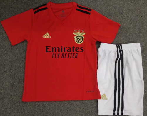 Benfica 20/21 Kids Home Soccer Jersey and Short Kit