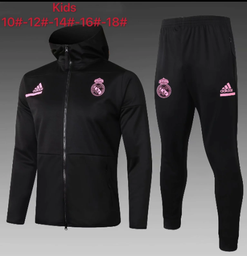 Real Madrid 20/21 Kids Hoodie and Pants - E498